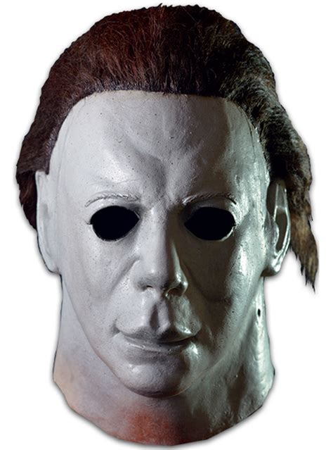mike myers halloween face adult s michael myers halloween ii movie deluxe mask