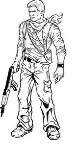 coloriage uncharted 224 imprimer