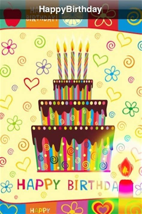 App For Birthday Cards Birthday Card App For Ipad Iphone Entertainment