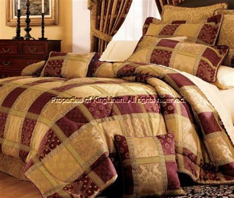 7pcs king eastbourne purple bedding comforter set on sale