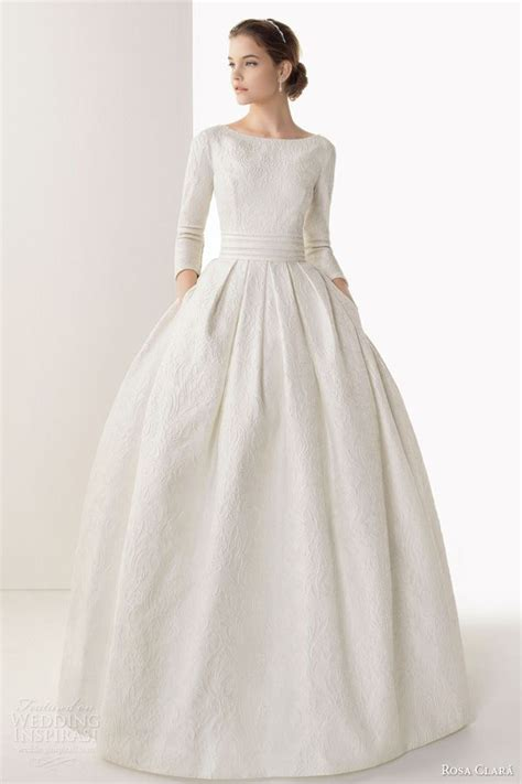 Yolanda Brocade Dress 580 best wedding dresses with sleeves images on