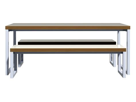 benches for office block steel white canteen table and benches canteen
