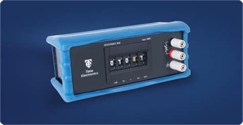 resistance box prt rtd instuments time electronics