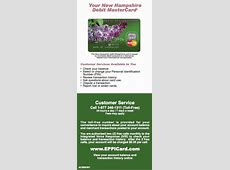 New Hampshire NH EPPICard Customer Service Number ... Eppicard Login New York