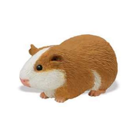 Cute Figurines by Guinea Pig Toy Miniature At Animal World 174