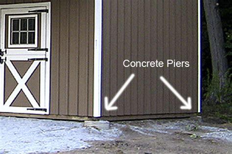 Pole Barn Concrete Piers building a pole barn part 1 and liz burton