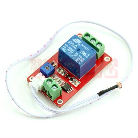 christmas light control module switch photoresistor relay module light detection sensor