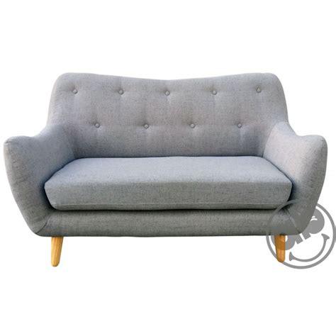 divanetto 2 posti divano divanetto casa 2 posti sofa in tessuto beige o