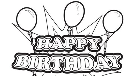 free coloring pages of happy birthday papa
