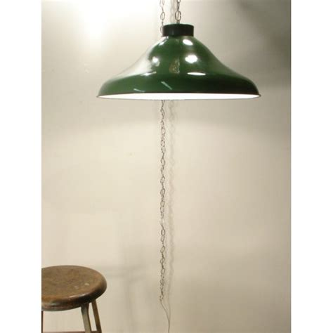 Swag Ceiling Lights by Green Ceiling Swag L Industrial Decor Large Vintage Light