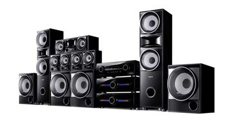 sony home theater home theatre component system