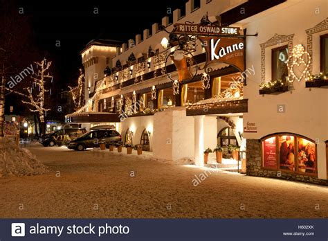 klosterbraeu hotel at night 5 star spa hotel christmas