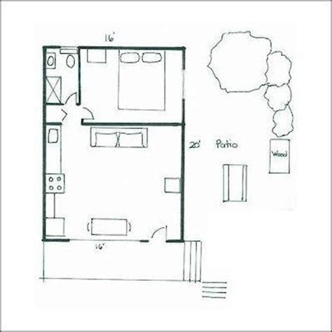 Unique Small House Plans Small Cottage Floor Plans Very Tiny House Plans 16x20