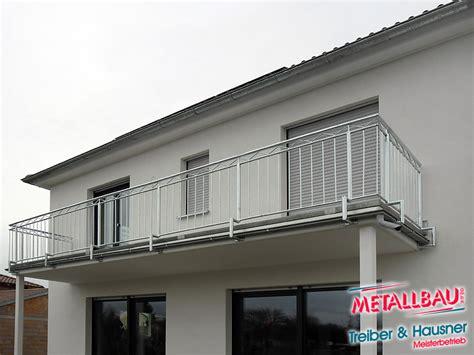 balkongeländer stahl metallbau treiber hausner balkongel 228 nder edelstahl