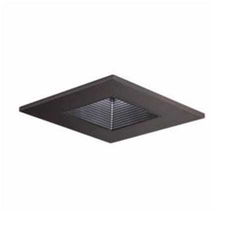 home depot recessed lighting a9fab20b halo 3 in tuscan bronze recessed lighting square adjustable baffle trim 3011tbzbb the home depot