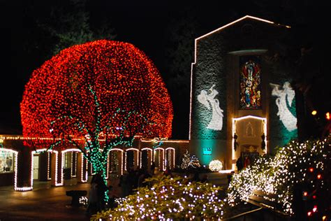 the grotto festival of the grotto christmas lights christmas lights card and decore