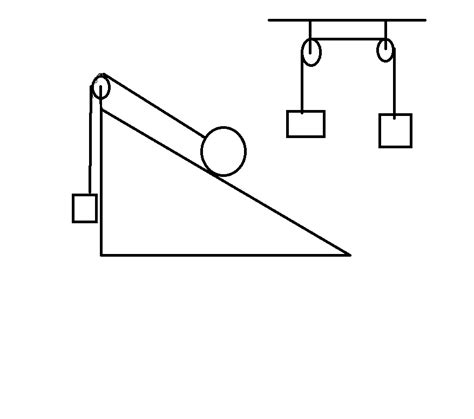 free diagram of a pulley homework and exercises massless pulley and direction of