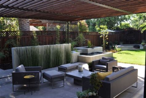 contemporary backyard how to create a modern rustic backyard