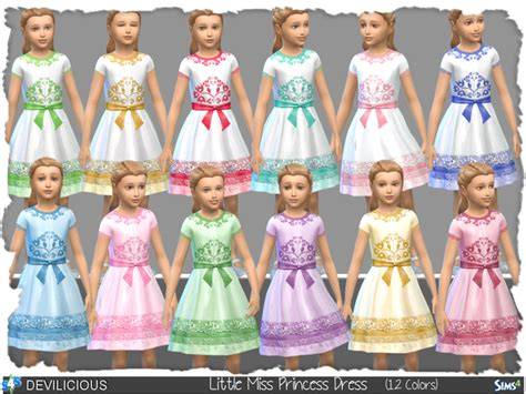 Kitchen Furniture Set Little Miss Princess Dress By Devilicious At Tsr 187 Sims 4