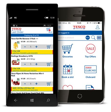 tesco mobile ireland apps mobile web tesco ie