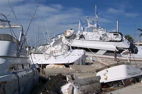 boat insurance and hurricanes surviving the storm boatus magazine