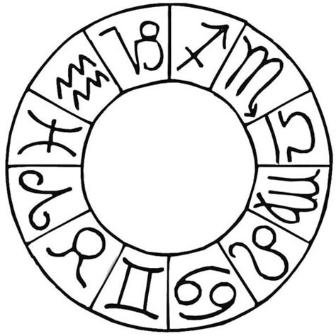 libra zodiac symbols coloring pages coloring pages