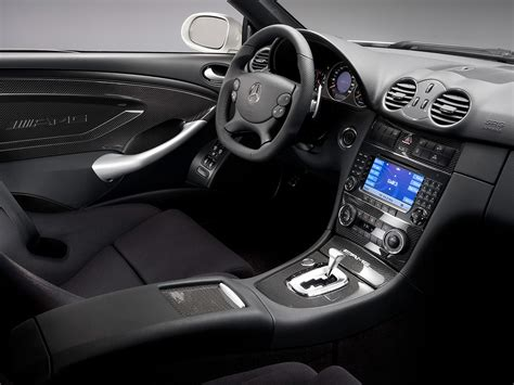 Clk Black Series Interior by 2008 Mercedes Clk 63 Amg Black Series Interior