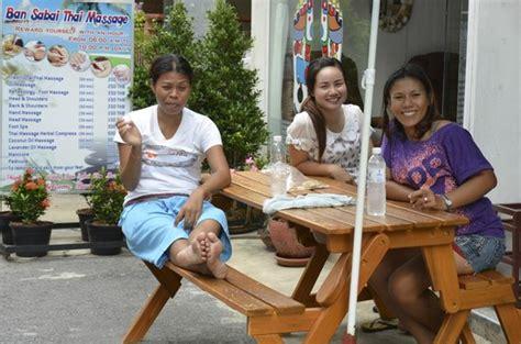 massage girls   floor picture  sunshine guest