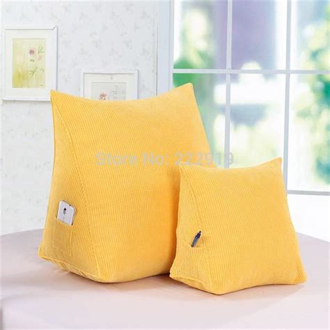 bed pillows for watching tv back rest cushions for watching tv new triangular bed