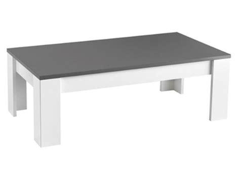 Table Basse Noir Et Blanc Pas Cher