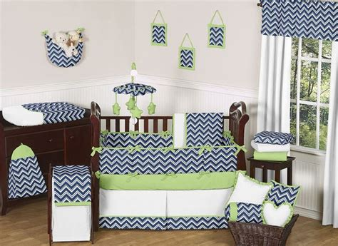 Cheap Chevron Crib Bedding Cheap Navy Blue White Green Baby Bedding Crib Set For Boy Room Collection Green Bedding