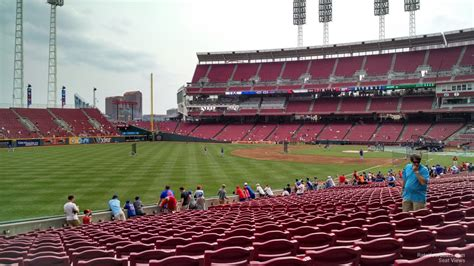 Great American Ballpark Section 135 by Great American Park Section 109 Cincinnati Reds