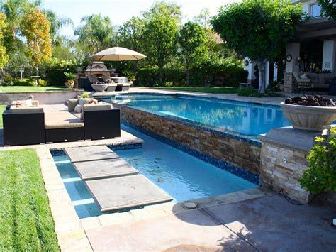 garden swimming pool custom dream homes stony wall photos hgtv