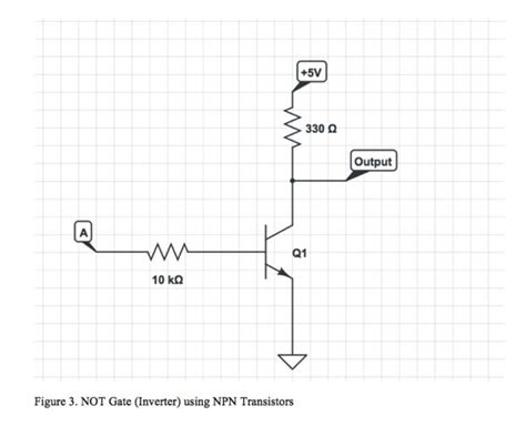 npn transistor or gate npn transistor not gate 28 images nor gate using npn transistor npn not gate switching