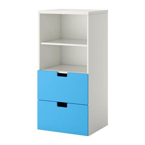 Ikea Storage by Stuva Storage Combination White Blue Ikea