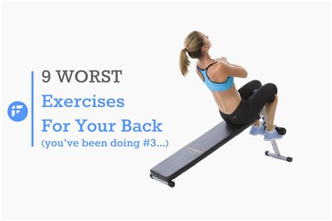 exercise equipment for your 9 worst exercises for lower back pain