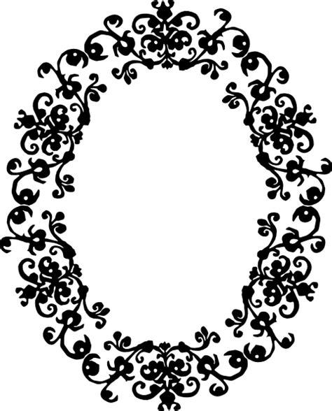 decorative oval border decorative oval clip art at clker vector clip art