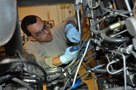 age mechanics provide vital mission support  air