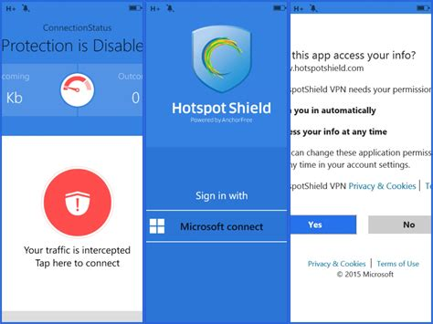hotspot shield for mobile windows mobile phone hotspot shield wp setting and upgrade