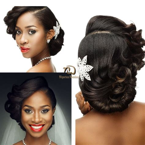 nigerian wedding hair styles 25 best ideas about black wedding hairstyles on pinterest