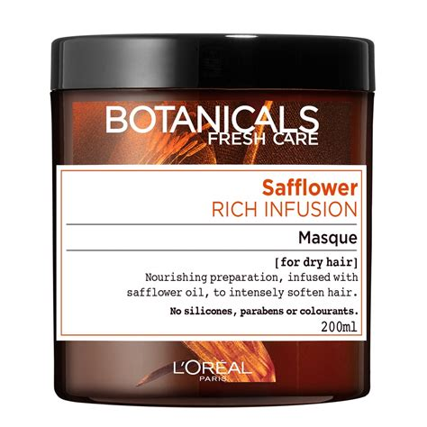 Loreal Buys Sanoflore The Organic Cosmetics Maker 2 by Buy Botanicals Safflower Rich Infusion Masque 200 Ml By L