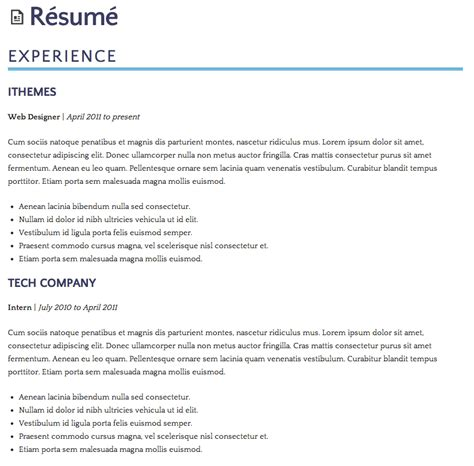resume styles Quotes