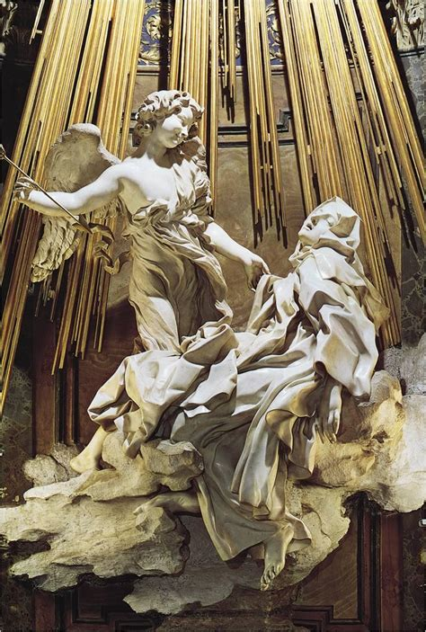 the ecstasy of theresa gian lorenzo bernini 1647