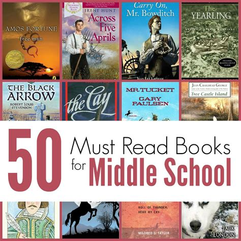 middle school picture books the unlikely homeschool 50 must read books for middle school