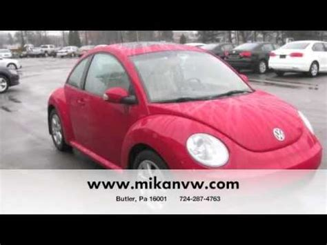 Volkswagen Butler Pa by Used Vw Tdi New Beetle Volkswagen Cpo Butler Pittsburgh