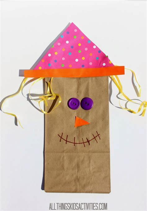 Paper Bag Scarecrow Craft For Preschoolers - scarecrow paper bag craft for by fspdt on atk arts