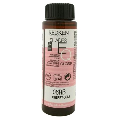 cherry cola permanent hair mousse redken shades eq color gloss 06rb cherry cola by for