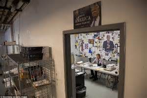 donald trump inside the hq of maybe the next us president inside donald s trump s new york caign headquarters