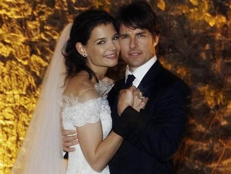 Tom Cruise Grows In Wedding Photo by It S Official Tomkat Now Husband Today