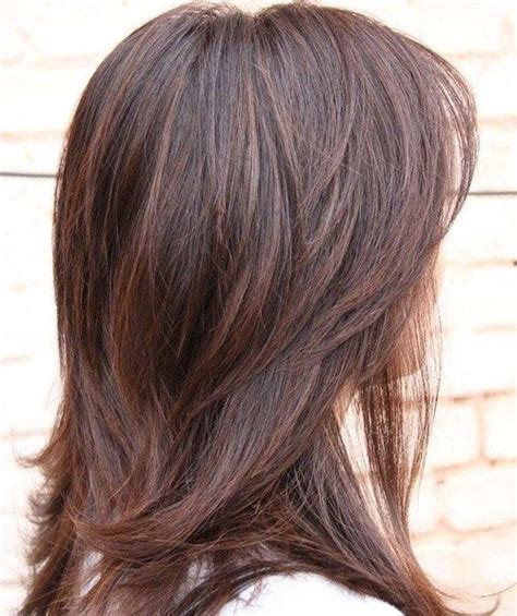 hairstyles with thick highlights highlights medium lengths and hairstyles for thick hair